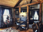 Cozy and Intimate, Vaulted Ceilings throughout