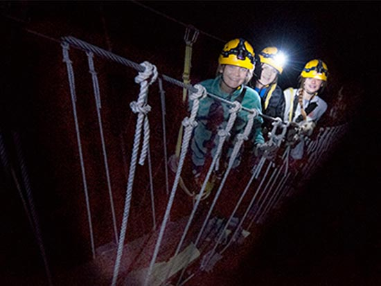 Night Zipline at Shawnee Canopy Tours